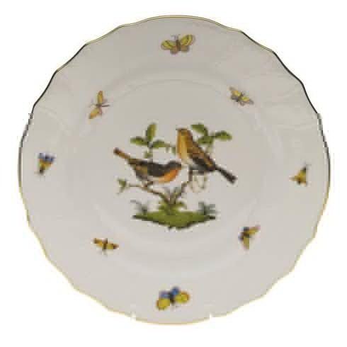 Herend Rothschild Bird Original (no border) Dinner Plate - Motif 09 $175.00