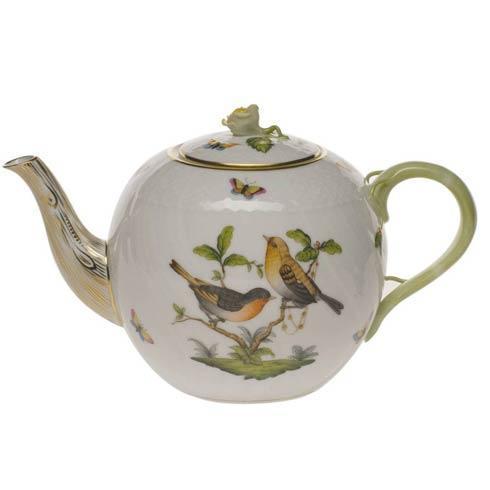 Tea Pot W/Rose
