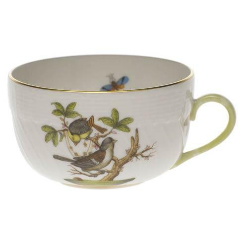 Herend Rothschild Bird Original (no border) Canton Cup - Motif 01 $140.00