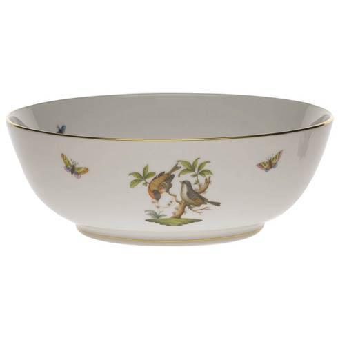 Herend Rothschild Bird Original (no border) Large Bowl $920.00