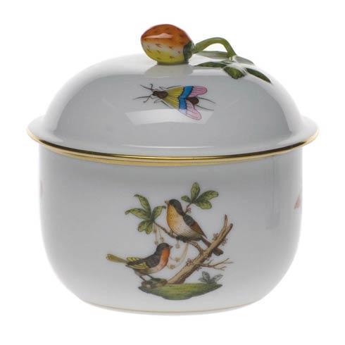Herend Collections Rothschild Bird Cov Sugar W/Strawberry $235.00