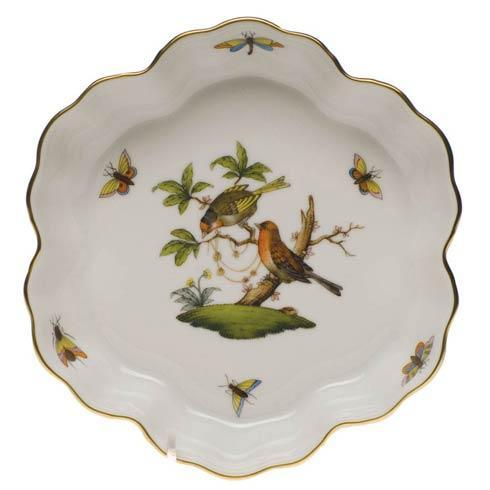 Herend Rothschild Bird Original (no border) Fruit Bowl $285.00