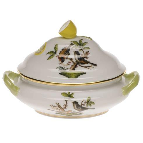 Herend Rothschild Bird Original (no border) Mini Tureen - Lemon $290.00