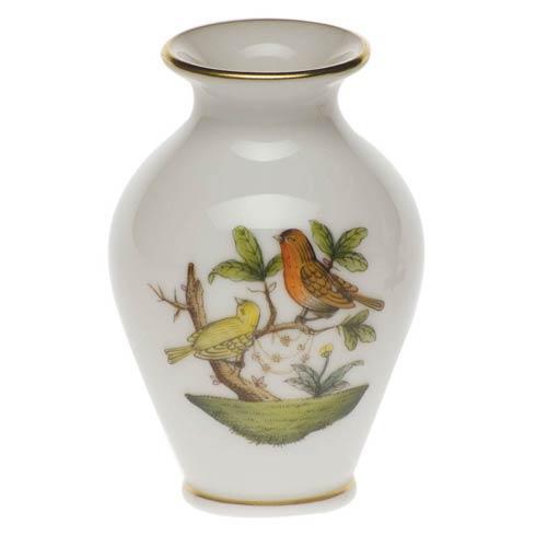 Herend Rothschild Bird Original (no border) Bud Vase $80.00