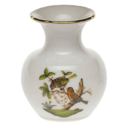 Herend Rothschild Bird Original (no border) Bud Vase $110.00