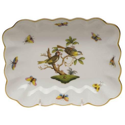Herend Rothschild Bird Original (no border) Oblong Dish $300.00