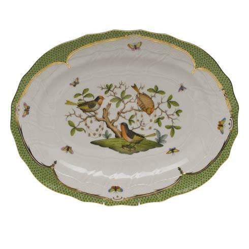 Herend Collections Rothschild Bird Green Border Platter $1,115.00