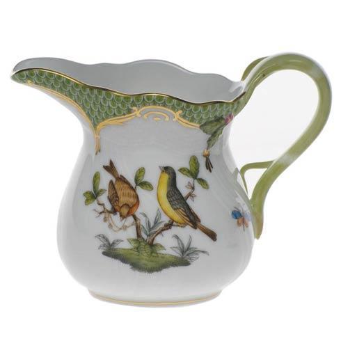 Herend Collections Rothschild Bird Green Border Creamer $310.00