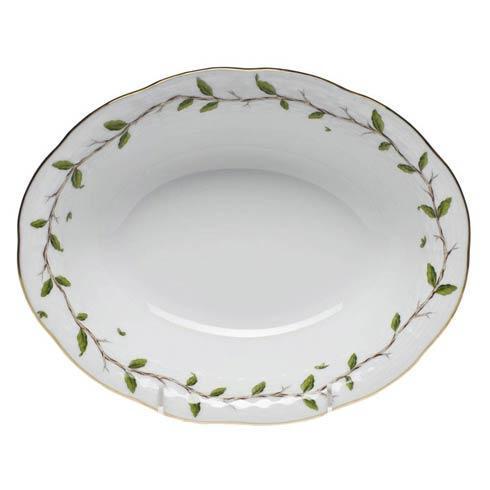 Herend  Rothschild Garden Oval Veg Dish $225.00