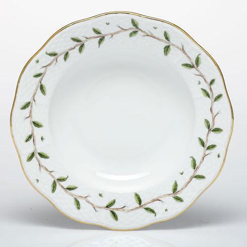 Herend  Rothschild Garden Rim Soup Plate $130.00