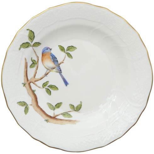 Herend  Song Bird Dessert Plate - Bluebird $165.00