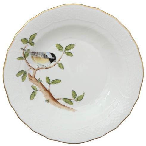 Herend  Song Bird Dessert Plate - Chickadee $165.00