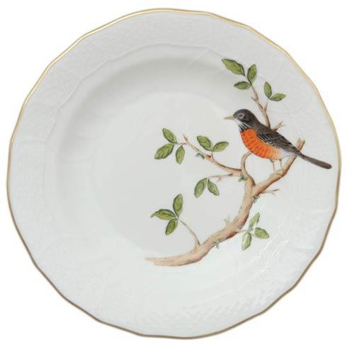 Herend  Song Bird Dessert Plate - Robin $165.00