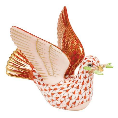 $375.00 Peace Dove with Branch - Rust