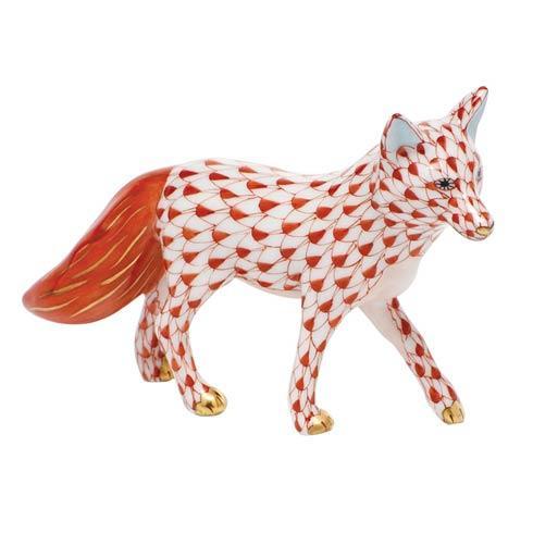 $295.00 Fox - Rust