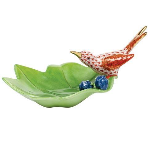 $350.00 Hummingbird on Leaf - Rust