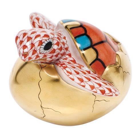 $295.00 Hatching Sea Turtle - Rust