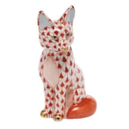 $240.00 Sitting Fox - Rust