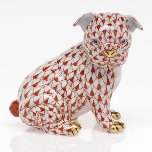 $255.00 Bulldog Puppy - Rust