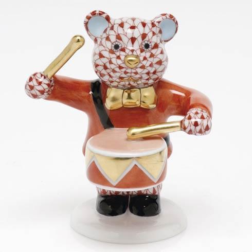 Little Drummer Bear - Rust