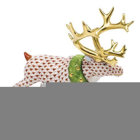 Holiday Reindeer - Rust image