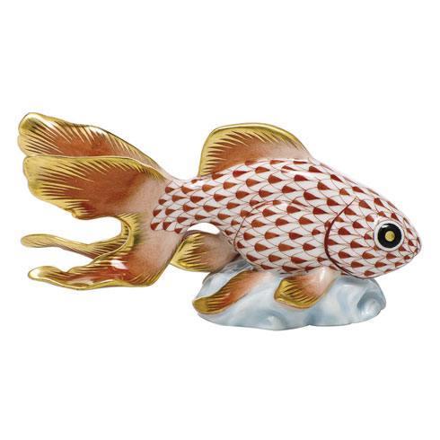 Fantail Goldfish - Rust