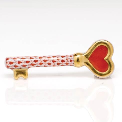 $195.00 Key to My Heart - Rust