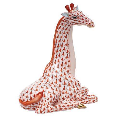 $595.00 Giraffe - Rust