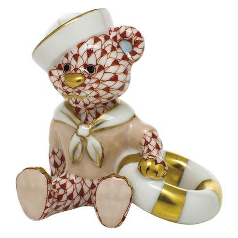 $325.00 Sailor Bear - Rust