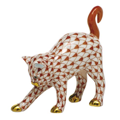 $285.00 Arched Cat-Rust