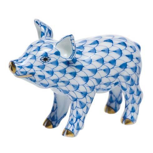 Herend Figurines Pigs Little Pig Standing $165.00