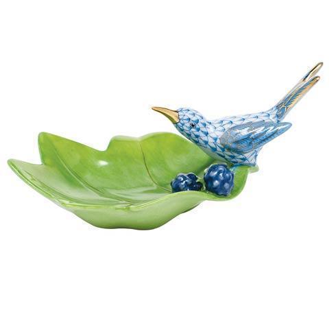 $350.00 Hummingbird on Leaf - Blue