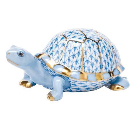 $395.00 Box Turtle - Blue