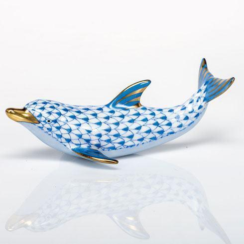 $350.00 Playful Dolphin - Blue