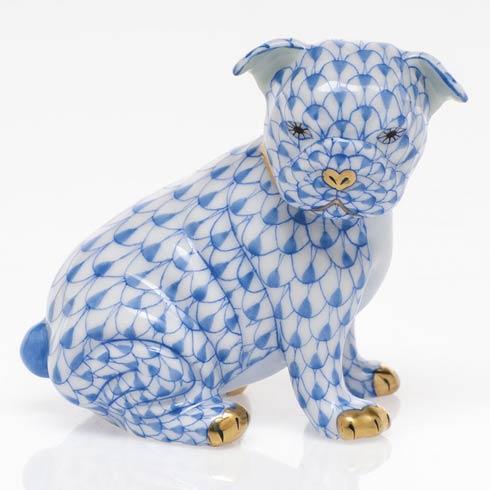 $255.00 Bulldog Puppy - Blue