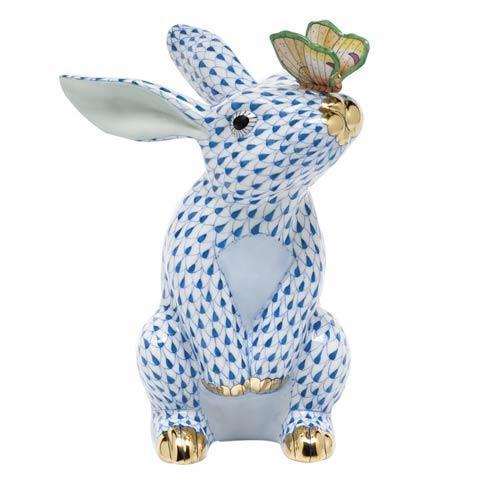 $765.00 Bunny with Butterfly - Blue