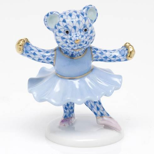 $325.00 Ballerina Bear - Blue