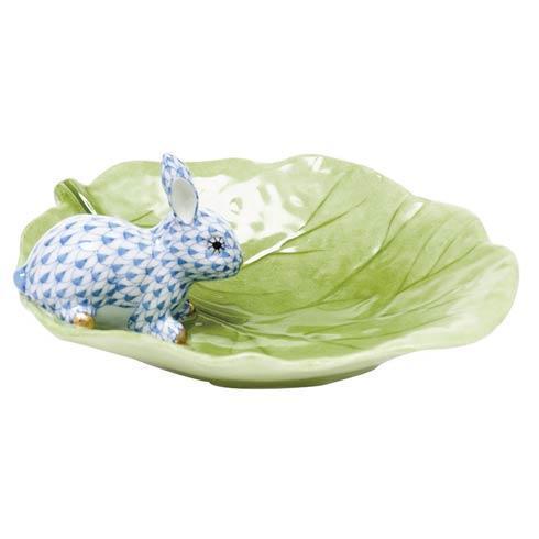 $350.00 Bunny on Cabbage Leaf - Blue