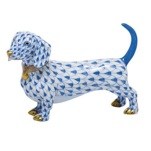 Herend Figurines Dogs Dachshund $295.00
