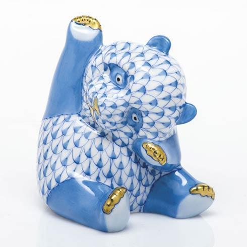 Playful Panda - Blue