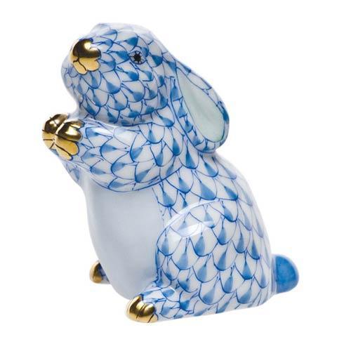 Herend Figurines Bunnies Pudgy Bunny $210.00