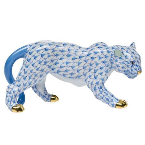Herend Figurine's Lions & Tigers Small Tiger $510.00