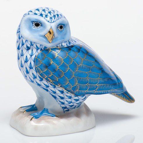 $350.00 Burrowing Owl - Blue