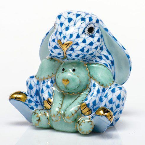 $350.00 Bunny and Lovey - Blue
