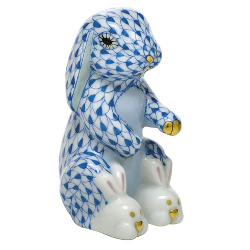$325.00 Bunny Slippers - Blue