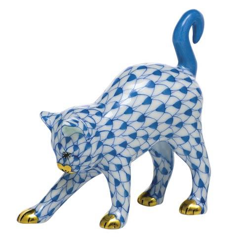 $285.00 Arched Cat-Blue