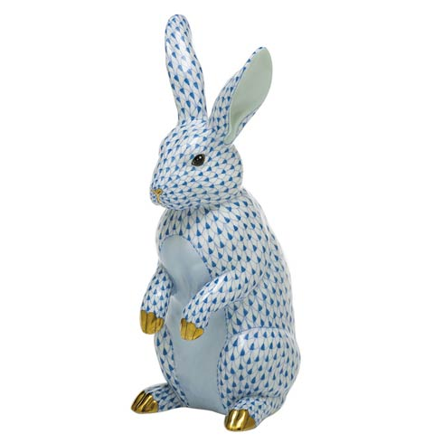 $1,775.00 Large Standing Rabbit-Blue