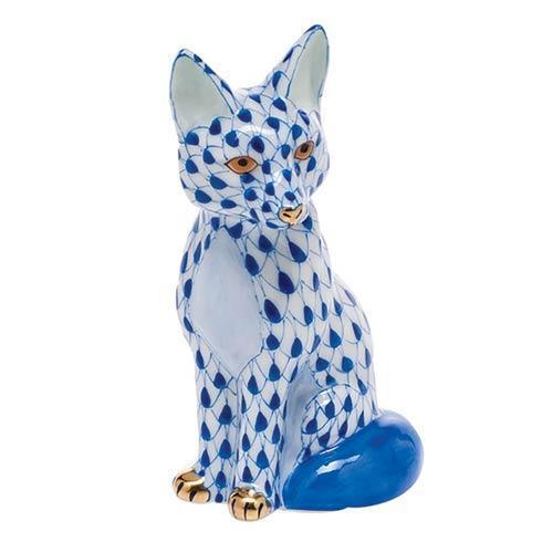 $240.00 Sitting Fox - Sapphire