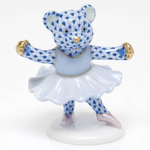 $325.00 Ballerina Bear - Sapphire