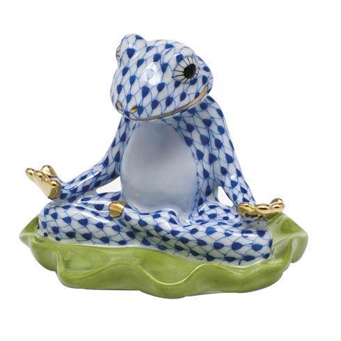 $325.00 Yoga Frog -  Sapphire